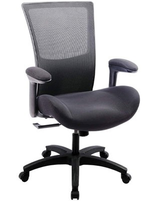 Boliss Big And Tall Office Chair With Flip Arms