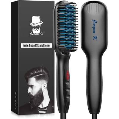 Jurgen K Ionic Beard Straightening Brush