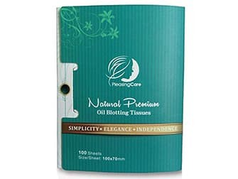 Natural Bamboo Charcoal Oil Absorbing Tissues