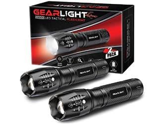 GearLight LED Tactical Flashlight S1000