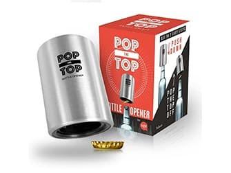 TaZa Pop-the-Top Beer Bottle Opener