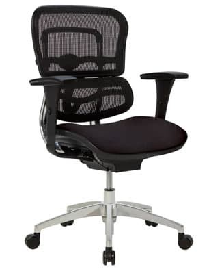 WorkPro12000 Mid-Back Ergonomic Managers Office Chair