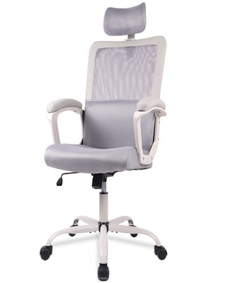 Yoyomax Mesh Office Chair With Adjustable Headrest
