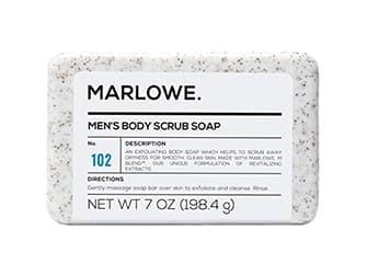 MARLOWE. No. 102 Men's Body Scrub Soap