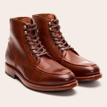 Frye moc toe boots
