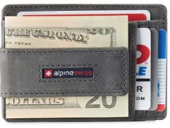 Alpine Swiss Harper Front Pocket Wallet