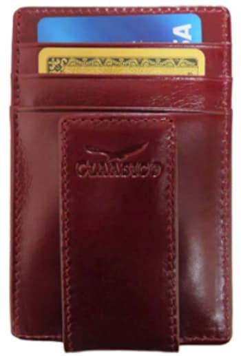 Claasico Leather Money Clip Wallet
