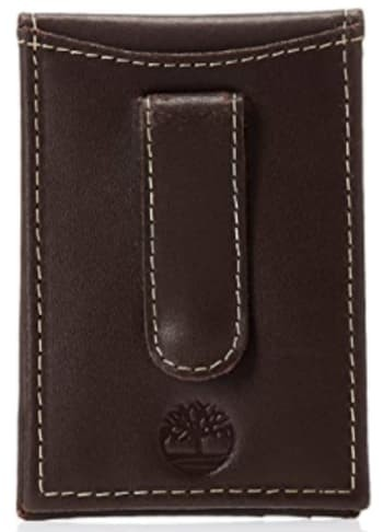 Timberland Men's Minimalist Front Pocket Wallet