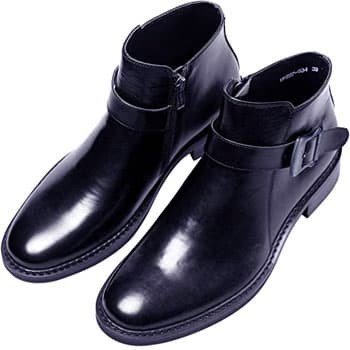 Santimon single monk strap boots